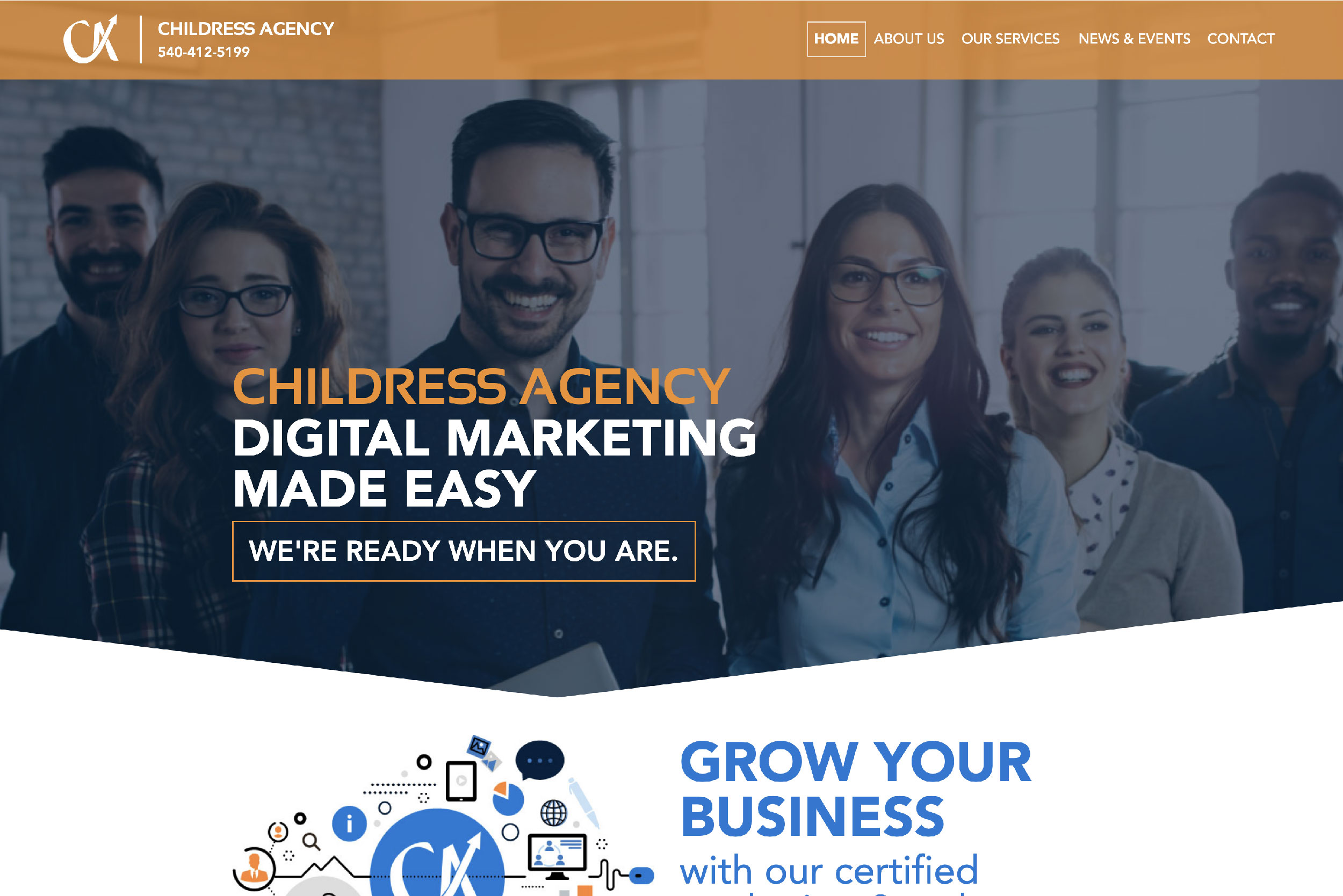 Childress Agency Web Design Digital Marketing